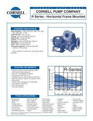 Horizontal Frame Mounted - BBC Pump and Equipment