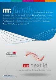 Das Magazin der  net group für Mitarbeiter und ... - mr.net group