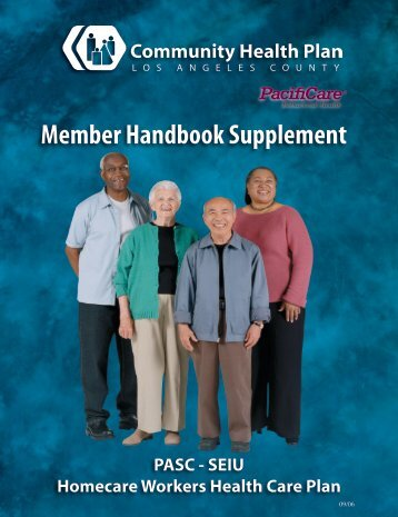Member Handbook Supplement - Los Angeles County Department ...