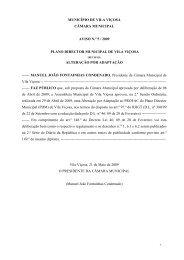 Aviso 5-09 - O Portal do Concelho de Vila Viçosa
