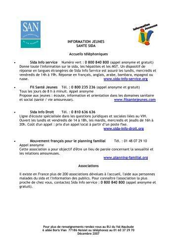 Santé SIDA - Agglomération de Marne-la-Vallée / Val Maubuée