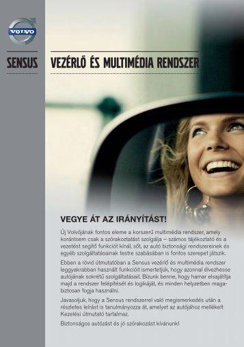 Sensus rövid Kezelési útmutató letöltése - Volvo