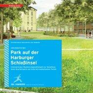 Park auf der Harburger Schloßinsel -  IBA Hamburg