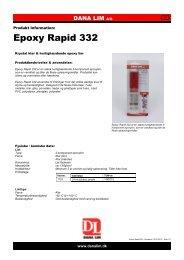 Epoxy Rapid 332 - Dana Lim A/S