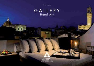 Gallery Hotel Art brochure - Lungarno Hotels Collection