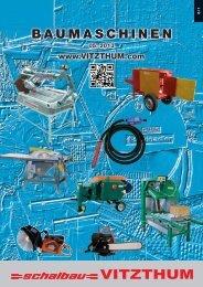 Baumaschinen Katalog 05-2013 - Schalbau Vitzthum