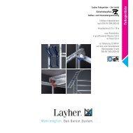 Fahrgerüste - Leitern