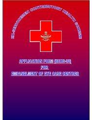 Empanelment of Eyes Care Centres - ECHS