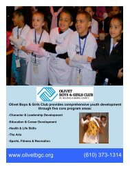 Olivet Boys & Girls Club provides comprehensive youth ...