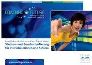 Studien- und Berufsorientierung für Ihre Schülerinnen und Schüler.