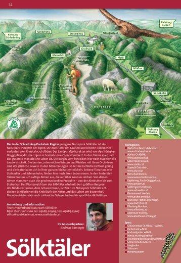 Download Erlebnis-Programm / Naturpark Sölktäler