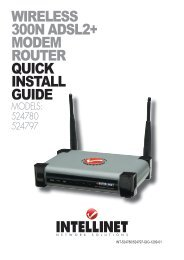 wireless 300n adsl2+ modem router quick install guide - IC Intracom