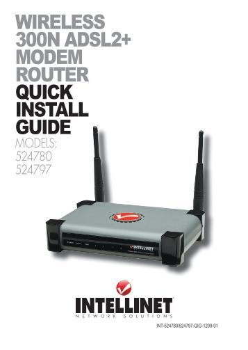 Linksys E-Series Router Quick Installation Guide
