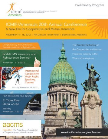 ICMIF/Americas 20th Annual Conference - International Cooperative ...
