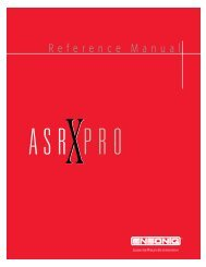 ASR-X Pro 3.00: Covers and UL Warnings - Synth Zone