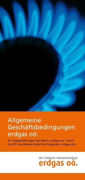Allgemeine Bedingungen OÖ. Gas-Wärme - Durchblicker