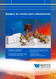 Equipos de control para climatización - Watts Industries