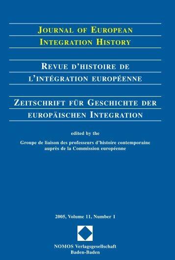 2005, Volume 11, N°1 - Centre d'études et de recherches ...