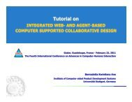 Integrated Web- and Agent-based Computer Supported ... - IARIA