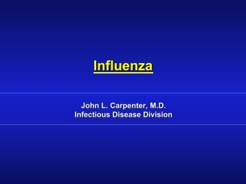 What is avian influenza? - Healthcare Professionals