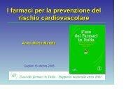 scarica l'intervento della dottoressa Anna Maria ... - Sardegna Salute