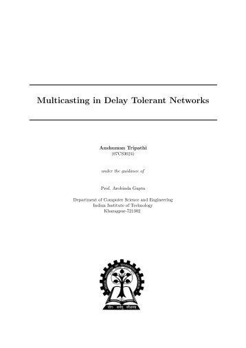 Doctoral dissertation computer science