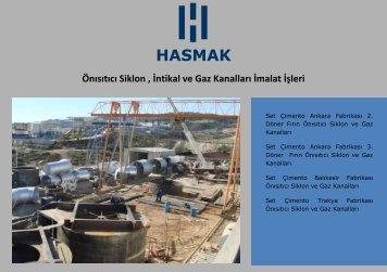 Çimento Katalog PDF - Hasmak.com.tr