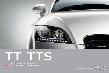 Audi TT Coupé | TT Roadster Audi TTS Coupé | TTS Roadster