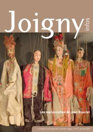 2 Joigny infos n° 47 - janvier 2013