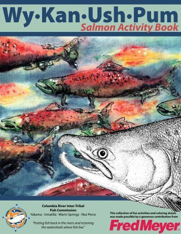 Salmon Activity Book - CRITFC