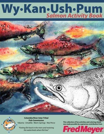 Salmon Activity Book - CRITFC