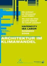 ARCHITEKTUR IM KLIMAWANDEL - IBA Hamburg