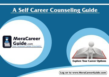 A Self Career Counseling Guide - School of Educators
