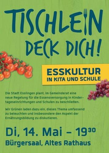 Zum Veranstaltungsflyer als PDF. - Bündnis 90/Die Grünen ...