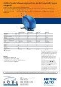 Produktdatenblatt mit Vergleichs- und Zubehörtabellen. - Robe ... - Seite 4