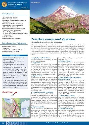 Zwischen Ararat und Kaukasus