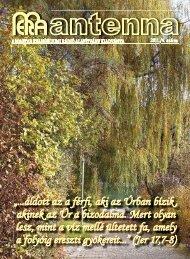 2011 4. szám - Magyar Evangéliumi Rádió