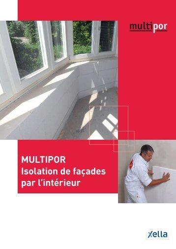 MULTIPOR Isolation de façades par l'intérieur