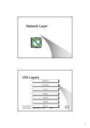 Network Layer OSI Layers