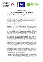 Acceso Denegado a los Medicamentos
