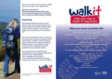 Walk your way to a healthier life!