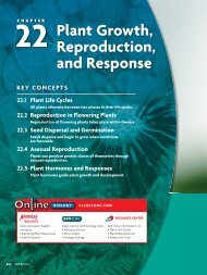 22 Plant Growth, Reproduction, and Response