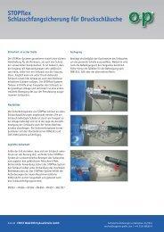 STOPflex - Ernst Wagener Hydraulikteile GmbH
