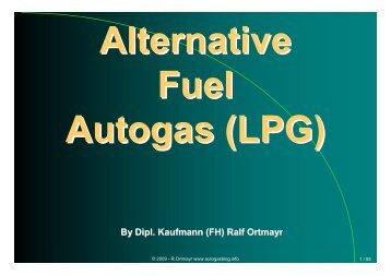 Autogas_Vortrag_BiTS Iserlohn 30082009 - Alternative Autogas
