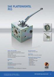 PV 3 Plattenventil - Ernst Wagener Hydraulikteile GmbH