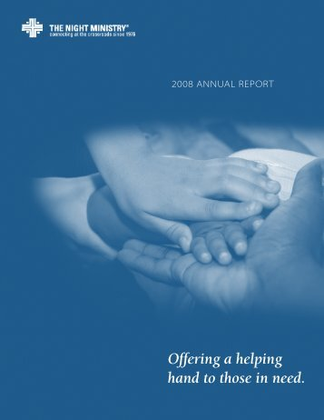 Offering a helping hand to those in need. - The Night Ministry