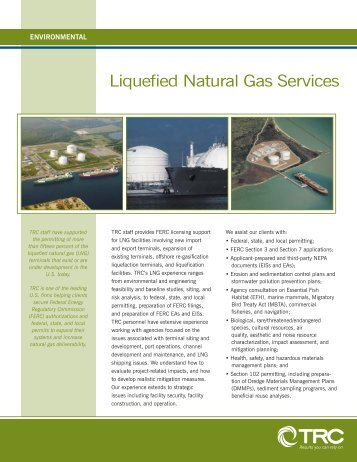 Liquefied Natural Gas Services.indd - TRC Companies, Inc.