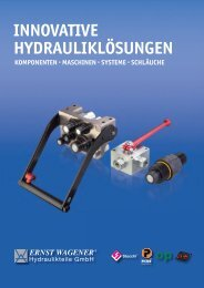 Flat-Face Steckkupplungen - Ernst Wagener Hydraulikteile GmbH