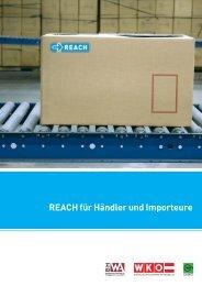 REACH für Händler und Importeure - Wirtschaftskammer Österreich