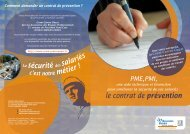 Le contrat de prévention - Actualités CARSAT Centre Ouest